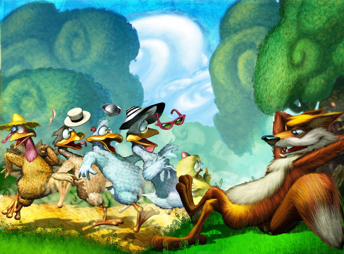 Gary_Freeman_Childrens_illustration-Gang_meets_Foxey