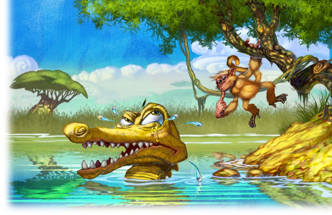 Gary_Freeman_Childrens_Illustration_Crocodile_Tears