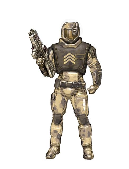 Gary_Freeman_Concept_Art_RTS-Game_Soldier