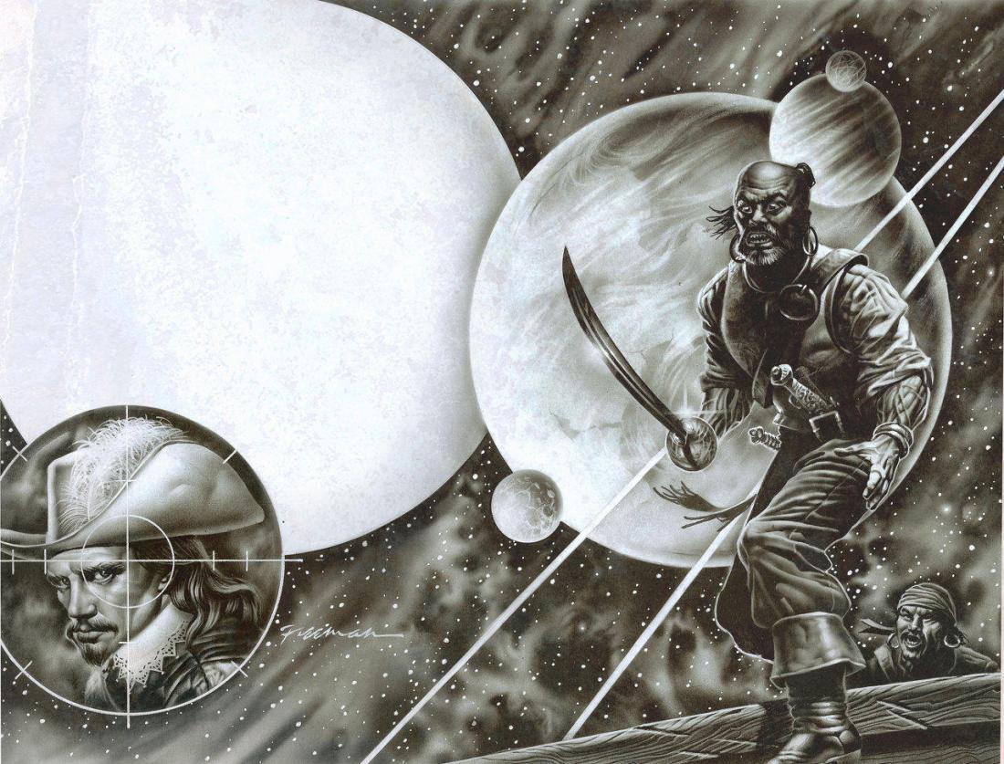 Gary_Freeman_Illustration_Publishing_Master_Cannoneer