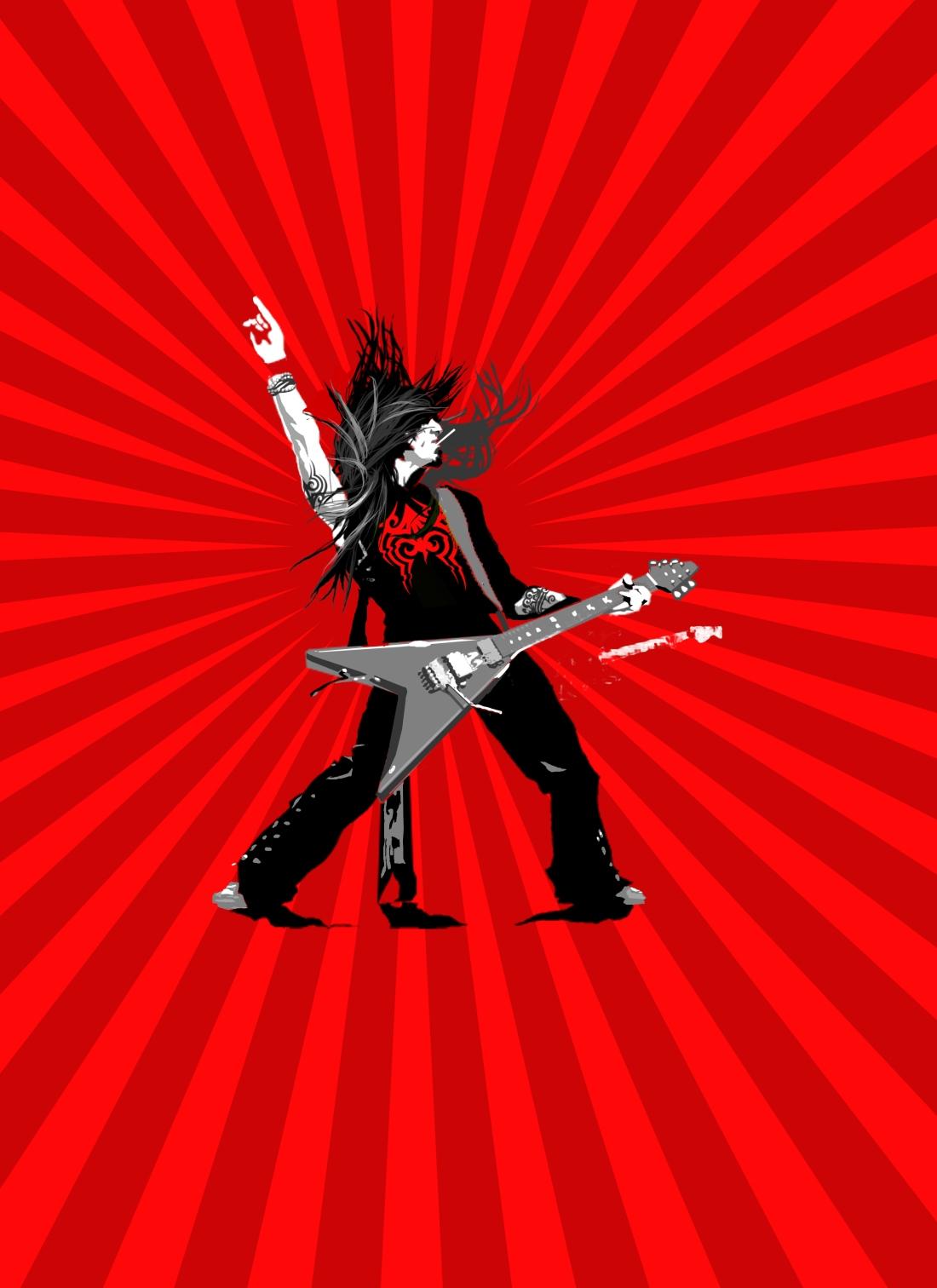 Gary_Freeman_illustration_Guitar player2b