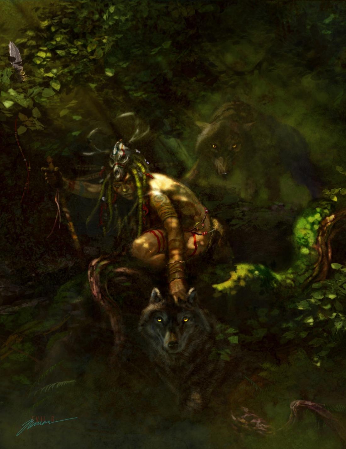 Gary_Freeman_illustration_Spirits_in_the Forest_Mist